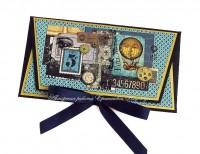 Мужской конверт для денег (№8093, Готовая работа, 800р.)