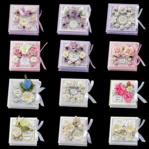 Свадебные коробочки для денег 12 шт