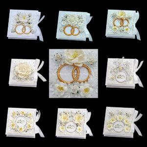 Свадебные коробочки для денег 8 шт 08 08 2015