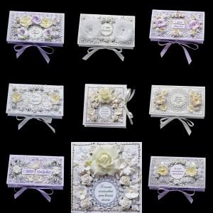 Свадебные коробочки для денег 10 шт2