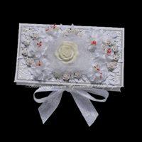 Свадебная коробочка для денег (№14284, Готовая работа, 1100р.)