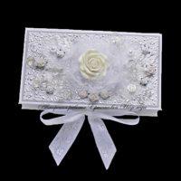 Свадебная коробочка для денег (№14286, Готовая работа, 1100р.)