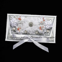 Свадебный конверт для денег (№14497, Готовая работа, 1000р.)