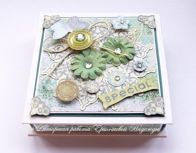 Открытка-коробочка для денег