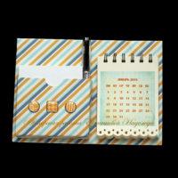 Магнит органайзер-календарь на холодильник (№11228, Готовая работа, 900р.)