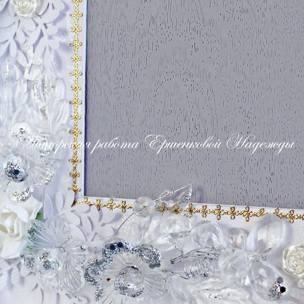 свадебная объемная рамка для фото