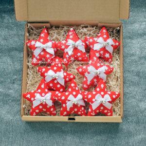 авторские елочные игрушки из ткани