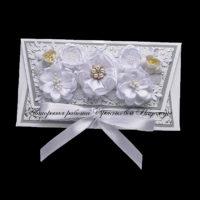 Свадебный конверт для денег (№14491, Готовая работа, 1000р.)